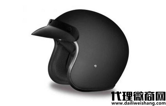 Daytona头盔巡洋舰修身线3/4外壳头盔