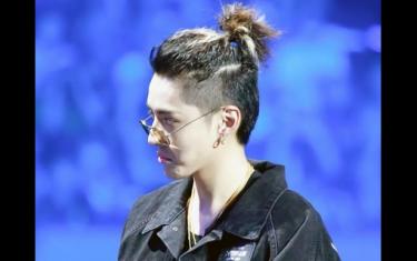 中国有嘻哈吴亦凡扎起来的发型叫什么