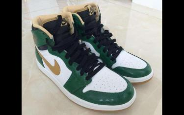 aj1小凯特人白绿鞋发售价多少?