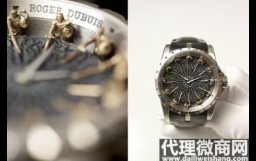 十二圆桌骑士手表价格 二手罗杰杜彼手表国内行情如何