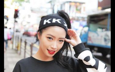 韩国发带怎么带好看, 韩国发带的系法图解
